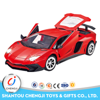 2017 top popular 5ch high quality 1:14 racing rc toy car led light for kids