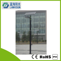 10W~70W Square Pole Solar LED Garden Street Light, Solar Park Light,CE,ROHS Approved
