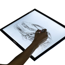 LED Light Box Tracer, A4 Thin Portable Light-up Stencil Board Tracing Light Table Copy Pad for Drawing, Tracing, Sketching, Anim