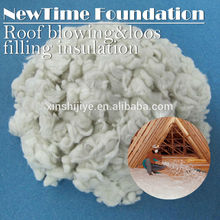 mineral fiber false ceiling / fire resistant thermal insulation material