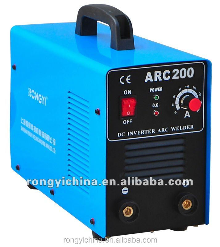 Shanghai Rongyi Mosfet Mini Inverter DC MMA 200A Welding Machine ARC200