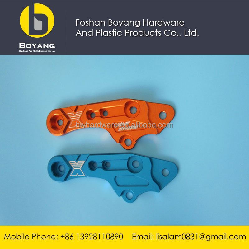 anodizing aluminum cnc machining parts for motorcycle accessories