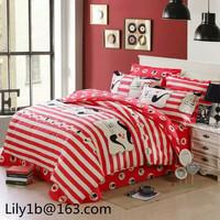 100% Indian cotton 300tc bedding sets, elegant flower designs printed bed sheet