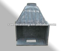 cast iron wood pellet stove with boiler