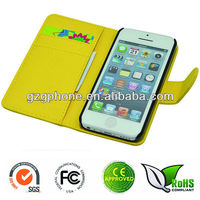 Wallet back cover for iphone5