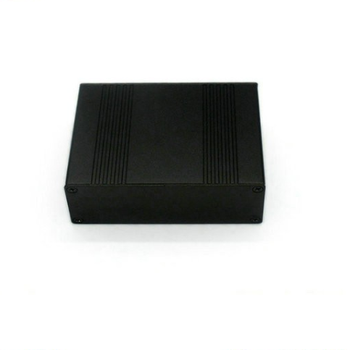 Black anodized 40*92*105mm aluminum extrusion electrical enclosure from shenzhen