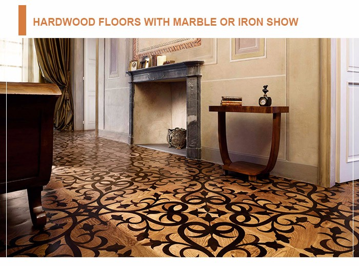 Factory direct sale prices project solid wood parquet flooring