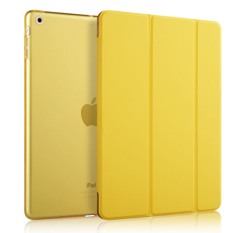 Logo customization Luxury Smart Stand Crocodile Leather Folding Folio Case Cover For iPad 9.7 inch
