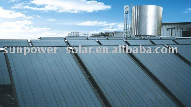 Solar panel thermal collector