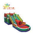 Yuhong new design 0.55mm pvc inflatable slide bounce