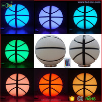 New product in competitive price Colorful glass ball light Living room bedroom Night Lamp color changes LED night light