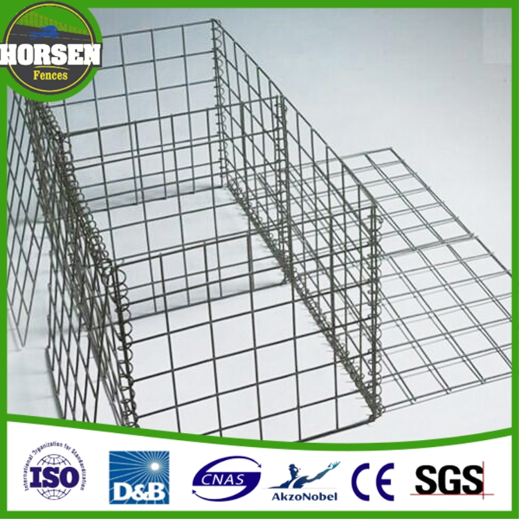Welded gabion retaining wall /welded gabion/construction material