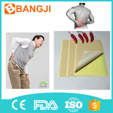 OEM pain relieving plaster for arthritis pain, knee pain, capsicum plaster