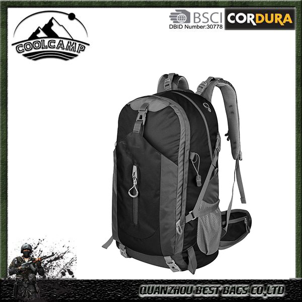 Hiking Backpack 50L - Weekend Pack w/ Waterproof Rain Cover & Laptop Compartment - for Camping, Travel, Hiking