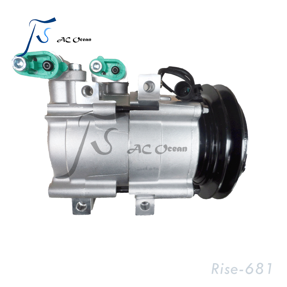 HS18 12V Automotive Electric Air Conditioning <strong>Compressor</strong> For Terracan <strong>AC</strong> Part 1B 125mm