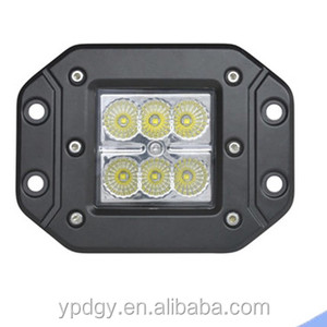 18w led work light for car and motorcycle light