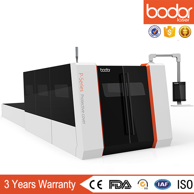 auto feed table full cover protection Bodor fiber laser cutting machine metal