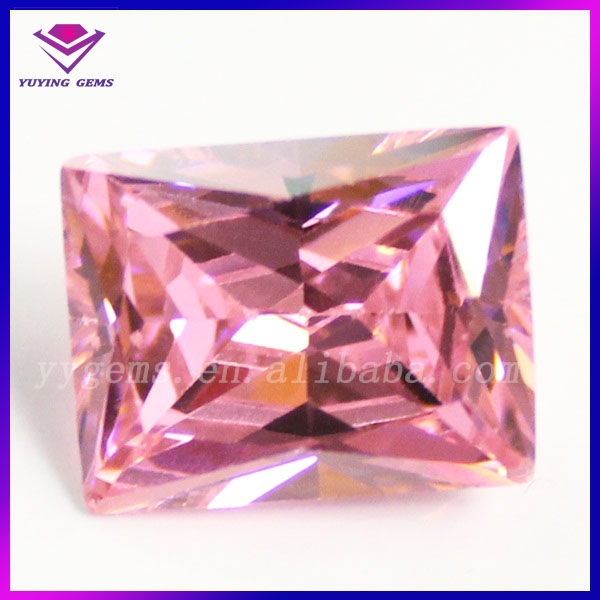 Hot beauty products ruby gemstone buy from china online square artificial diamond