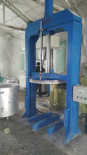 High viscosity paste Hydraulic discharging machine