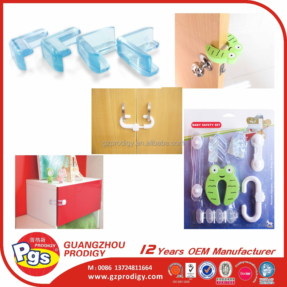 2013 NEW baby safety product door stop corner protector cabinet latch kits
