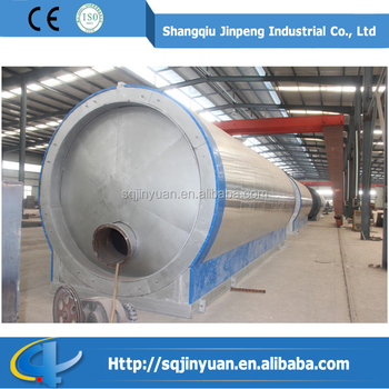 The green industry scrap tire processing oil distillation for Scrap tractor tires