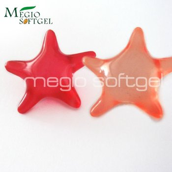 Star shaped Bath Oil Beads