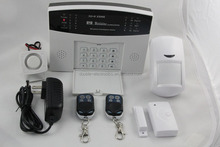 Wireless&Wired LCD GSM SIM Autodial Home House Office Burglar Security Alarm