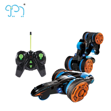 Remote Control Stunt Car Toy 5-Wheels RC Stunt Dancing Car With Light