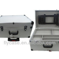 Professional Aluminum Tool Trolley Case With
