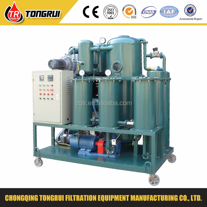 double stage vacuum machines transformer oil purifier/machines for sale