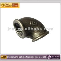 Expansion pipe joint, galvanized iron elbow 90