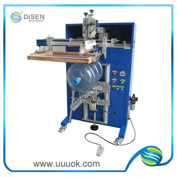 High speed roll to roll screen printing machine