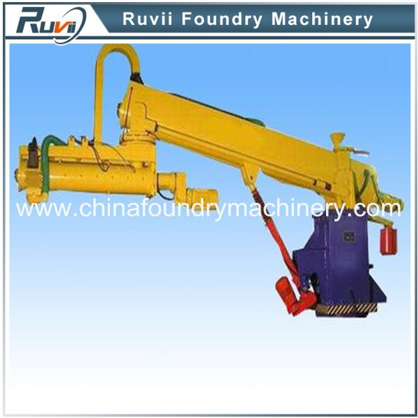 Portable Continuous Foundry No Bake Sand Mixing Machine