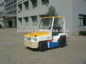 JJCC/NISSAN TOW TRACTOR FOR BAGGAGE on the dolly AT THE AIRPORT 2-3TON DRAWBAR PULL
