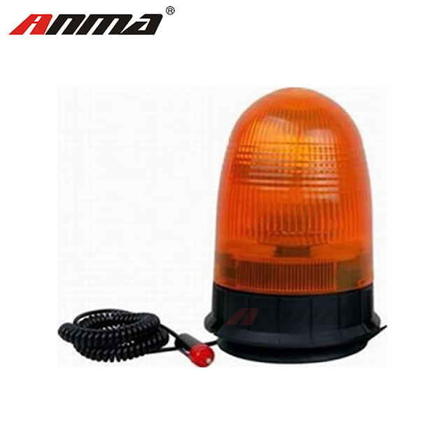 Light Rotating Emergency Warning Light 12 Volt Red Lens