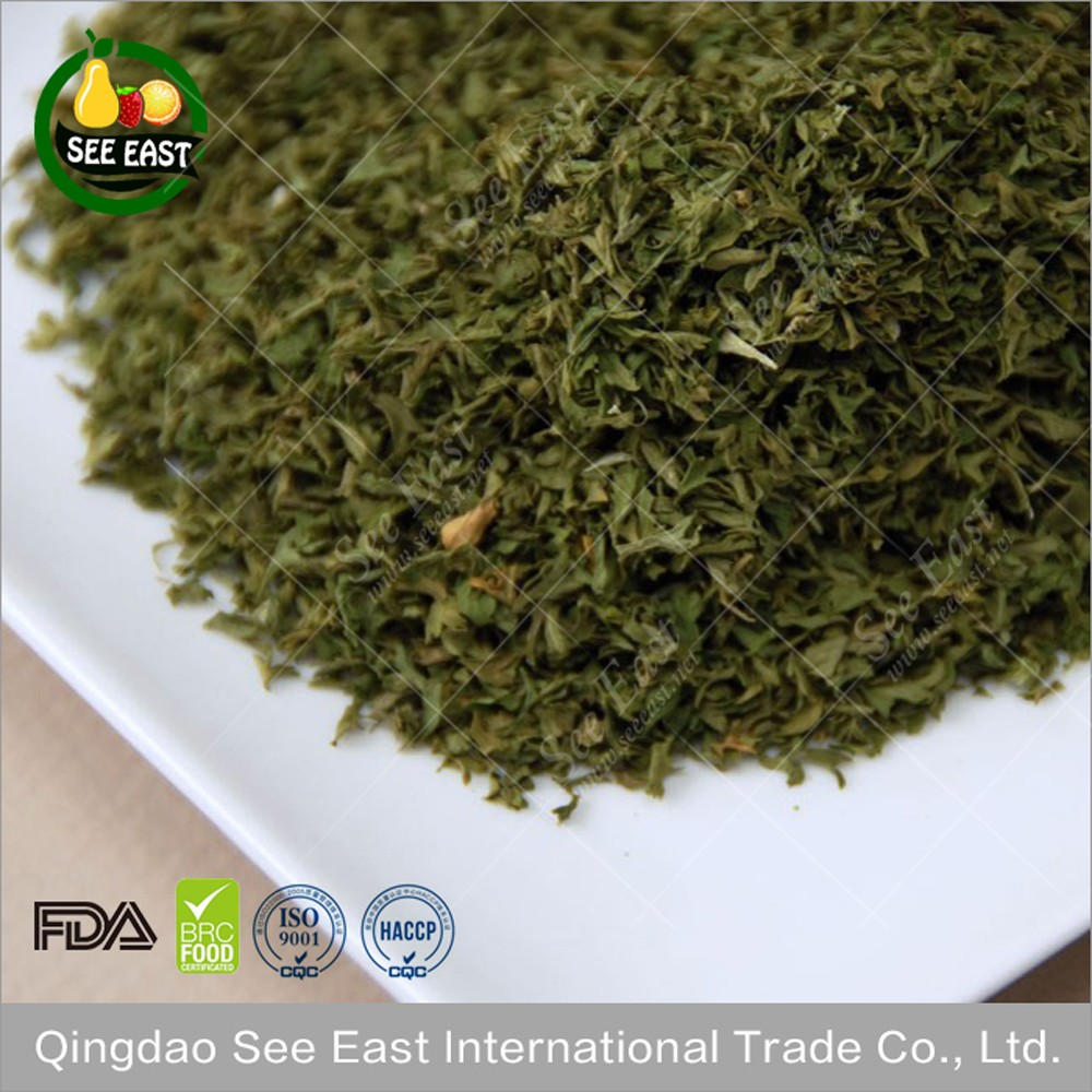 Kosher Certified Chinese Dehydrated Vegetables Dehydrated Parsley