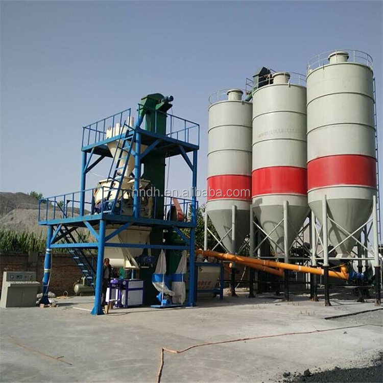 10-15t/h dry mix cement and sand mortar production line made in China