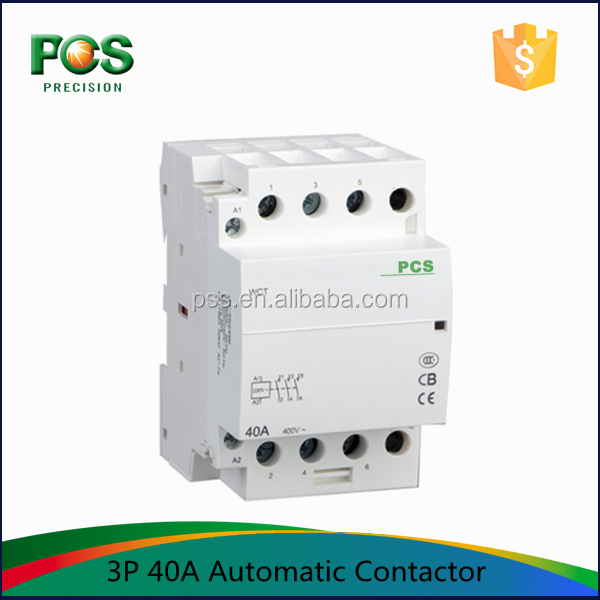 AC Electricity Type 2 Phase magnetic contactor