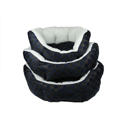 Main product luxury portable stuffing pet dog beds , minion dog bed sofa cum dog bed