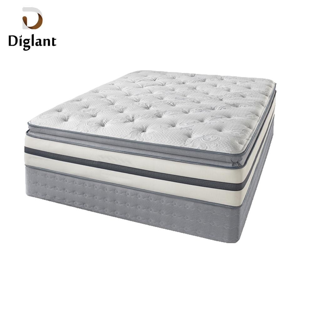 DM072 Diglant Gel Memory Latest Double Fabric Foldable King Size Bed Pocket bedroom furniture mattress for children - Jozy Mattress | Jozy.net