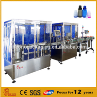 China good and cheap factory supply full automatic double head eye drop filling capping machine