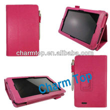 Stand Leather Case For Asus Memo Pad ME172V