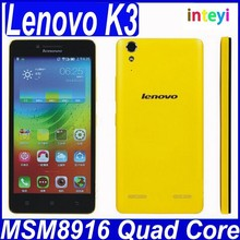 New Cheap Original Lenovo K3 Music Lemon Quad Core Dual Sim 4G LTE Wifi Android 4.4 Mobile Phone in Stock