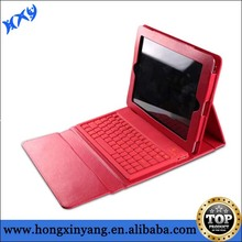 For iPad foldable leather bluetooth keyboard case