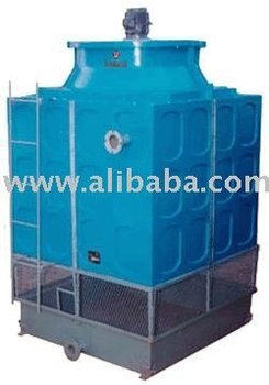 FRP INDUCED DRAFT COOLING TOWER SQUARE MODEL