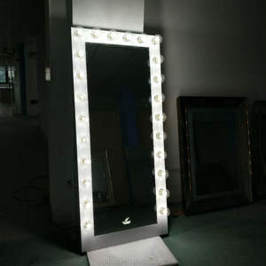 Table top hollywood style vanity mirror with lights hollywood
