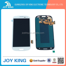 hot sale original lcd for samsung s3 i9300 display with high quality