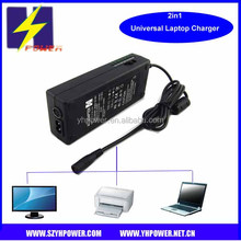 100W AC100v-240v/DC12V Input USB universal laptop adapter with car charger