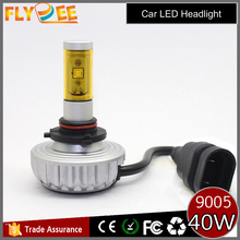 Super bright 3000lm auto car 3S crees led headlight bulb kit h1 h3 h4 h7 h11 h13 880/881 9007 9004 9005 car led headlight
