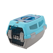 Pet products flight approved plastic dog cage for traveling